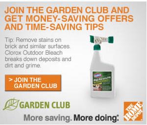 Join The Home Depot Garden Club Money Saving Offers Tips Kroger Krazy