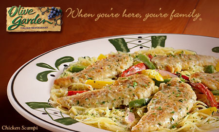 picture relating to Olive Garden Printable Coupon named Fresh new Olive Backyard Printable Coupon - $5.00/2 Supper Entrees
