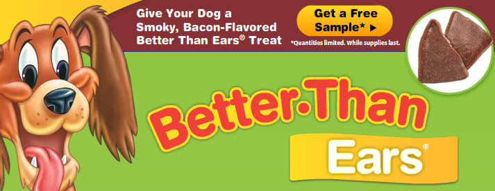 Better Than Ears Dog Treats Coupons