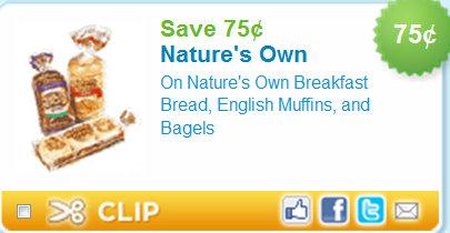 Nature S Own Bread Kroger