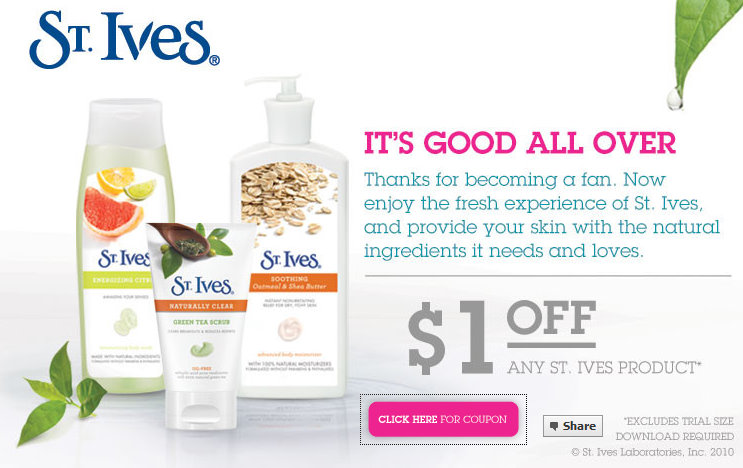 graphic regarding St.ives Printable Coupons called Coupon codes st ives / Tanger discount codes printable
