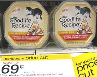 Goodlife recipe cat food printable coupon