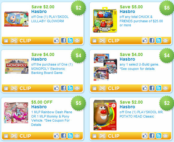 image relating to Hasbro Printable Coupon called 12 Extra Hasbro Toy Printable Discount coupons! Kroger Krazy