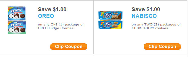 graphic about Chips Ahoy Coupons Printable titled 2 Contemporary Nabisco Cookies Discount coupons! Oreo Chips Ahoy No Sizing