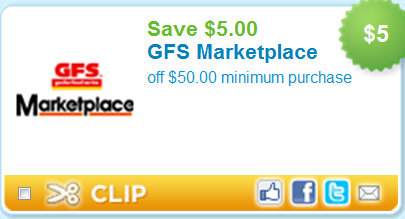 photo regarding Gfs Coupons Printable known as Exceptional* Gordon Meals Services Coupon! Kroger Krazy