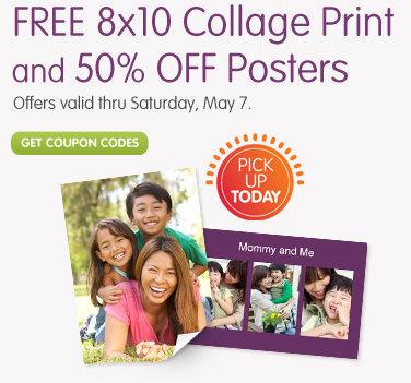 walgreens photo free 8 10 collage print free ship to store