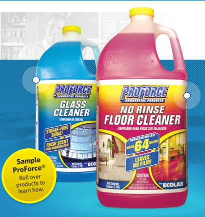 Free Samples Of Proforce Glass Cleaner Amp No Rinse Floor