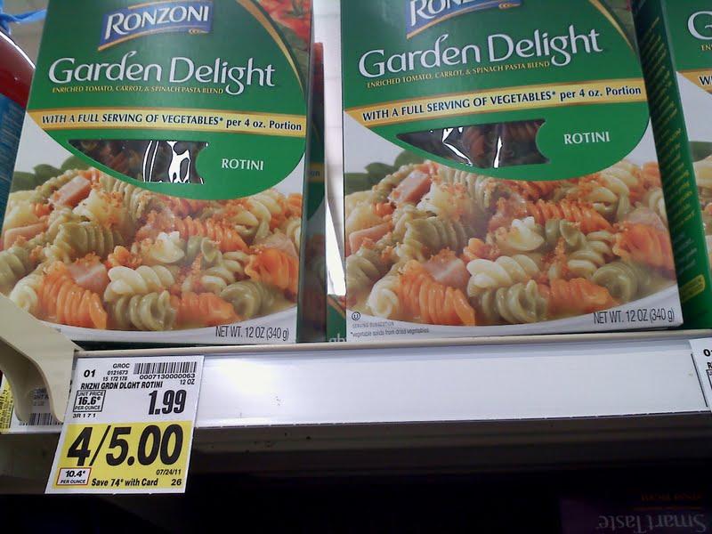Ronzoni Garden Delight Fettuccine Ronzoni Garden Delight Smart