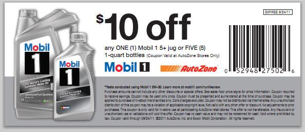 Autozone discount coupon code