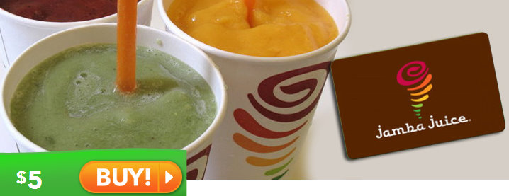 Saveology   Jamba Juice, Einstein Bros Bagels & Baja Fresh Gift ...