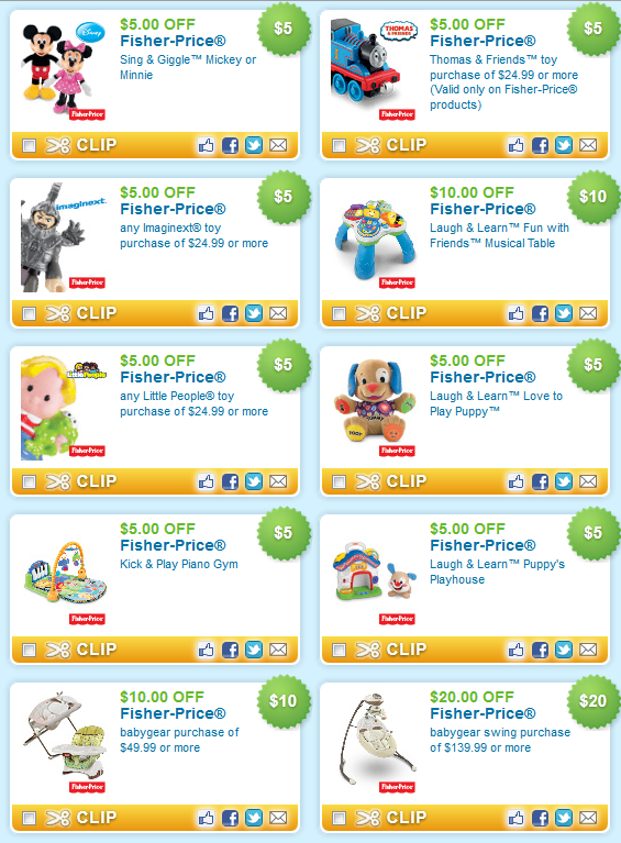 photograph regarding Fisher Price Printable Coupons named Fisher selling price discount codes printable 2018 : Birthday convey