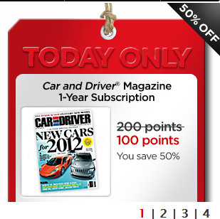 my coke rewards car and driver magazine subscription for 100 points down from 200 kroger. Black Bedroom Furniture Sets. Home Design Ideas