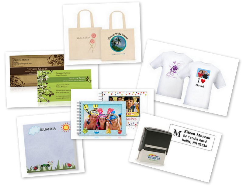 Vistaprint : 6 FREE Items (Business Cards, T-Shirt, Photo ...