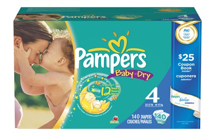 Pampers Baby Dry Diapers Big Box Catalina Deal 0 22 Per