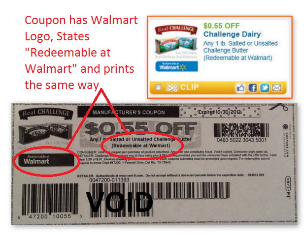 does target accept redeemable at walmart coupons
