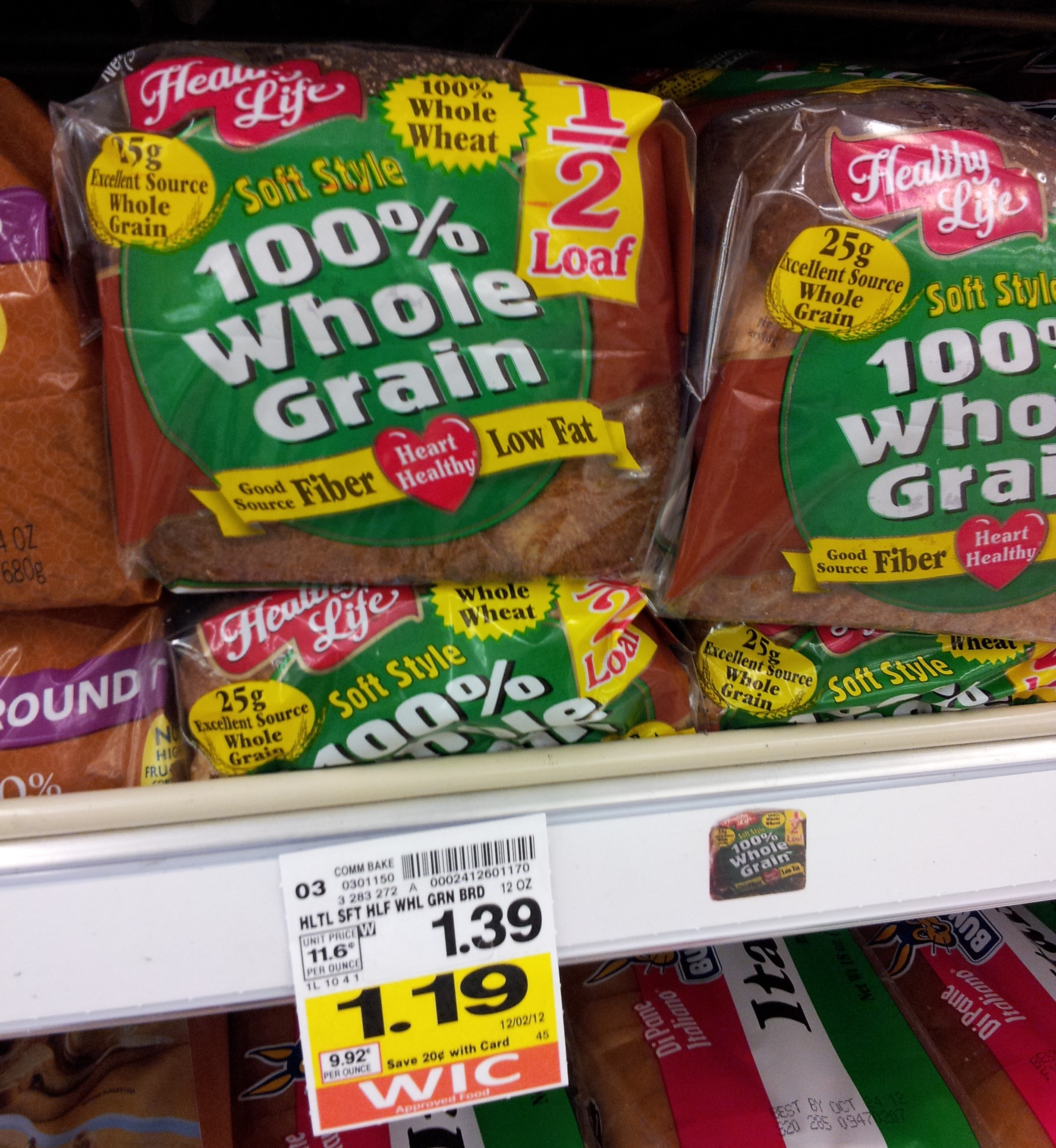 Bread coupons canada