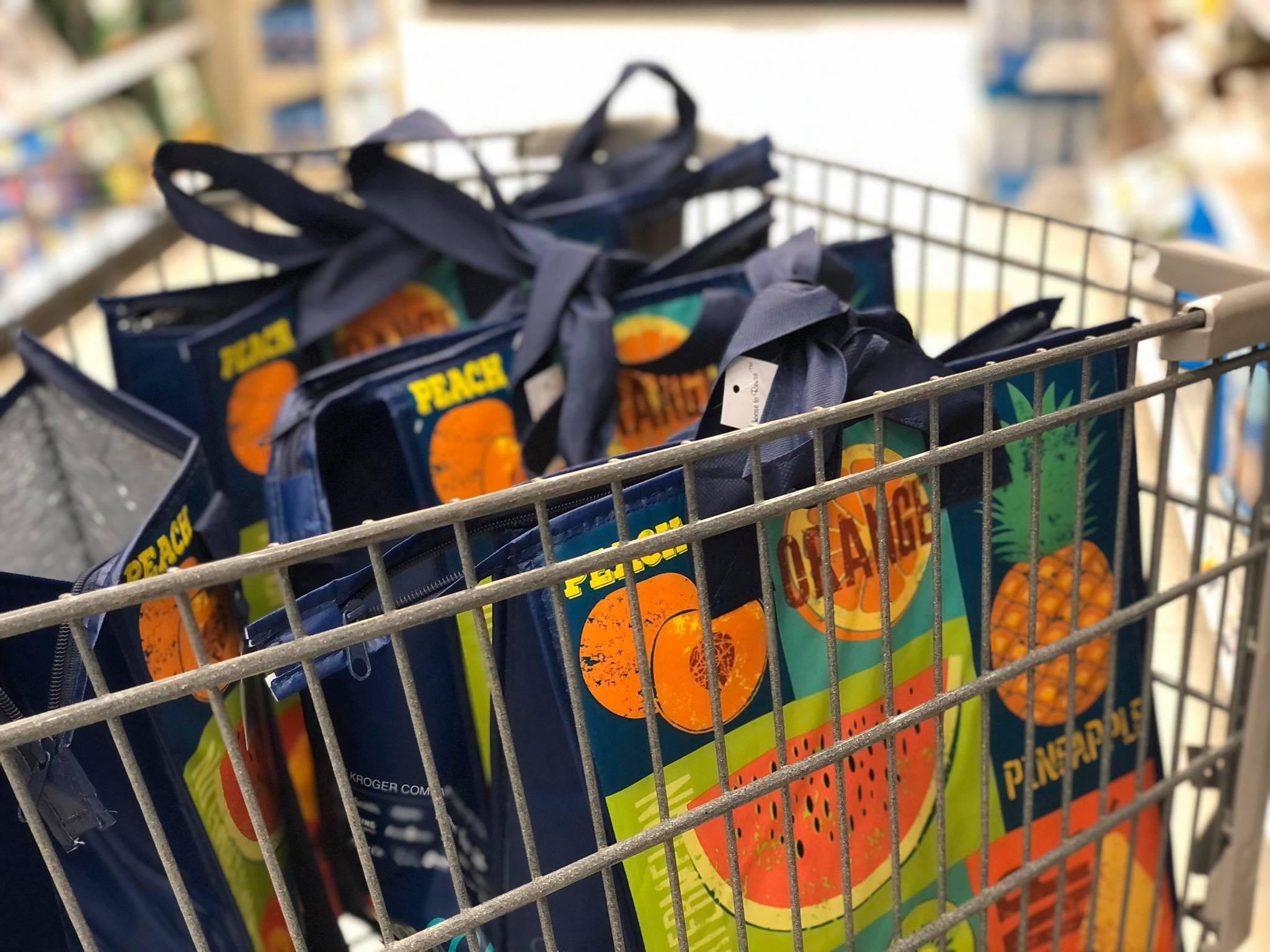 Kroger Reusable Shopping Bags