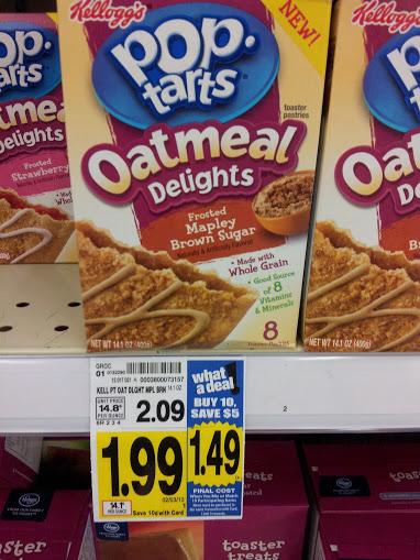 FREE Pop-Tarts Oatmeal Delights at Kroger! - Kroger Krazy