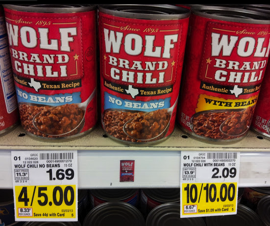 For generations, Wolf's Brand unique blend of seasonings and good hearty beef have delivered authentic chili taste.