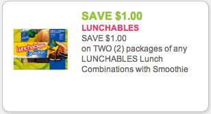 New Lunchables Coupon Kroger Deal Kroger Krazy