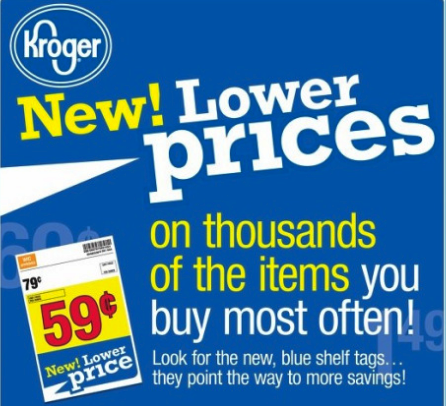Kroger New Prices