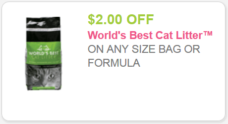 Worlds greatest cat litter coupon
