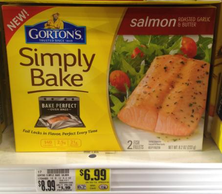 Gorton 39 s simply bake on sale at kroger kroger krazy for Fish sauce kroger