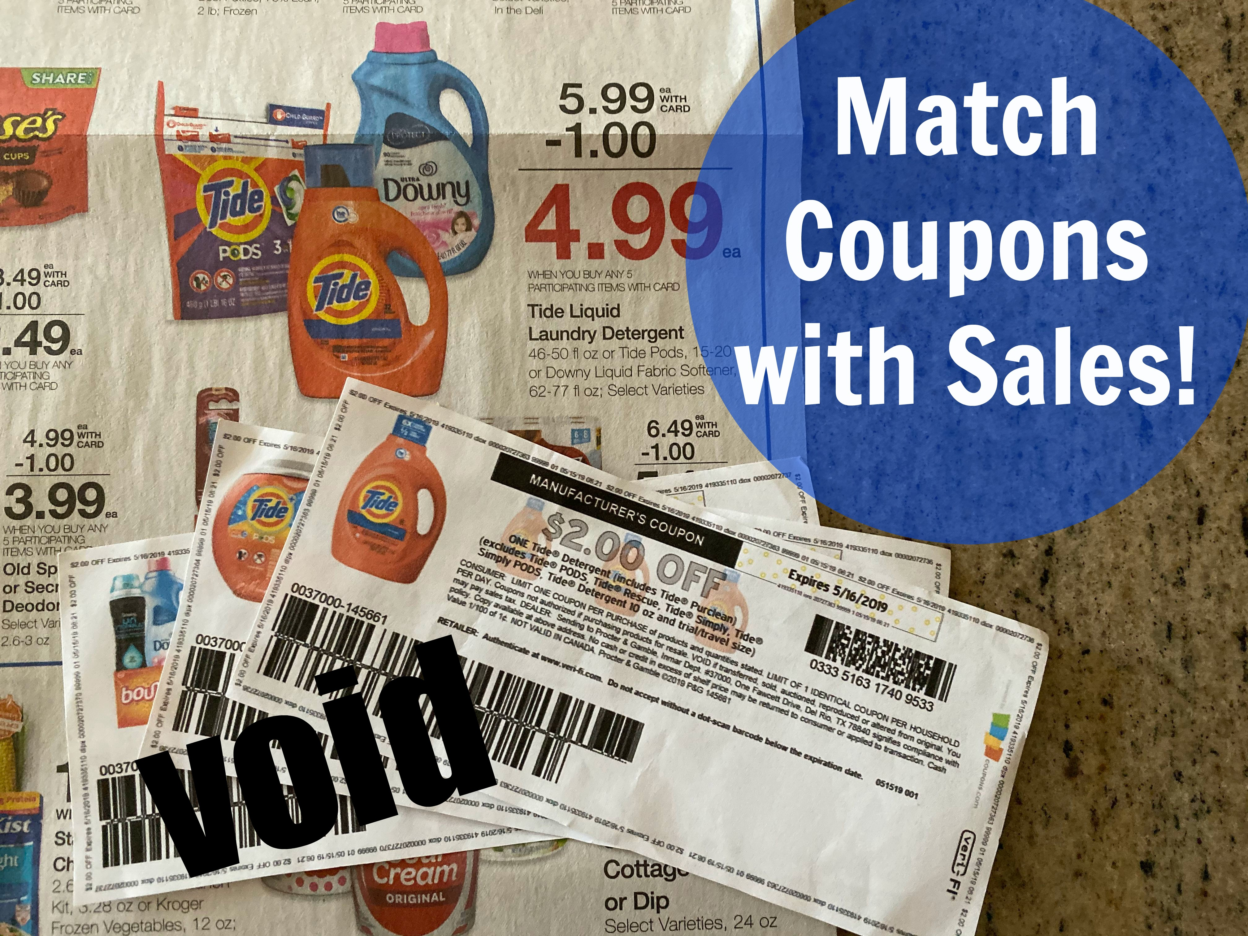 Couponing For Beginners Matching Coupons With Sales Stockpiling Kroger Krazy
