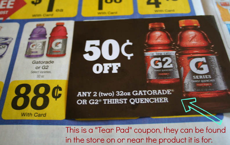 picture about Gatorade Coupons Printable called Couponing For Newbies Matching Discount codes With Profits