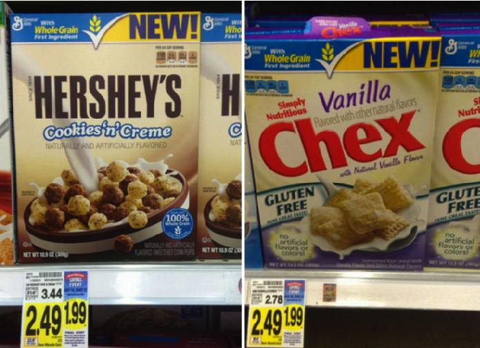 hershey's cereal