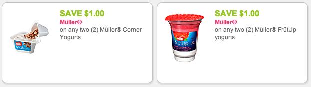 Muller Yogurt coupons