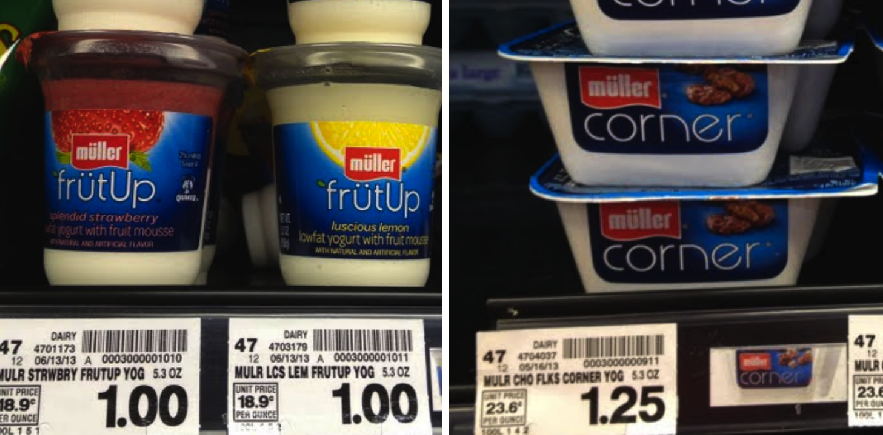 Muller Yogurt Kroger