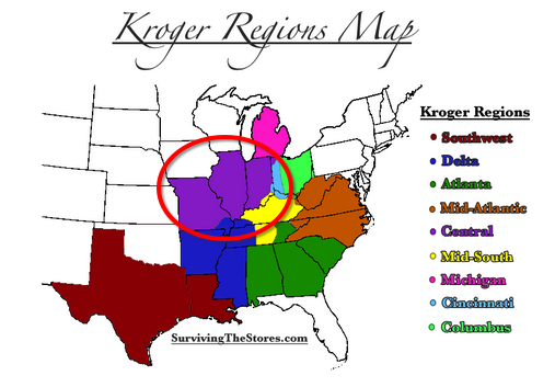 Kroger Cenral Region
