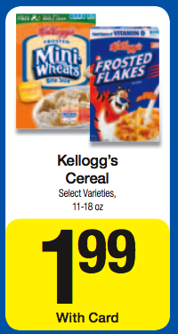 Kellogg's Cereal Kroger Ad