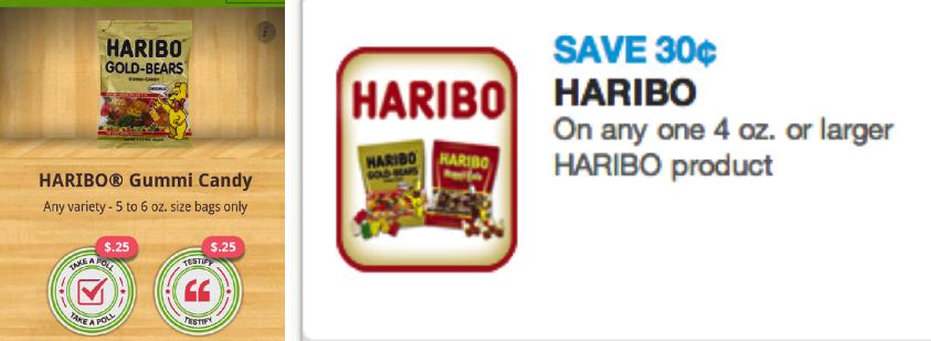 Haribo coupons