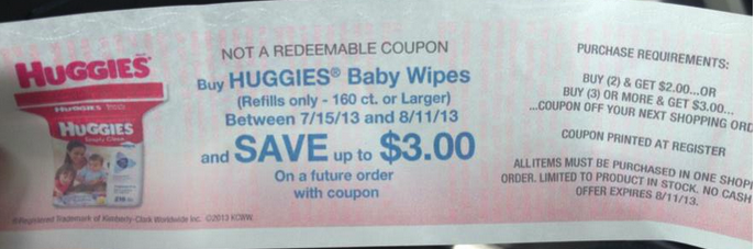 Huggies Wipes Catalina