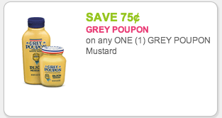 Grey Poupon coupon