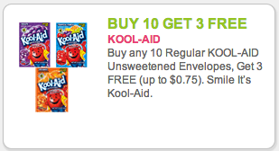Kool-Aid coupon