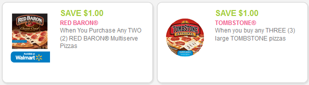 Great Deals On Red Baron And Tombstone Pizza At Kroger Kroger Krazy