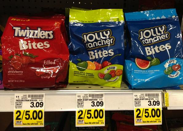Jolly Rancher Bites