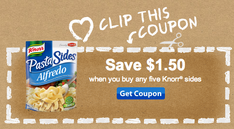 Knorr sides coupon