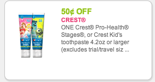 Save money with toothpaste, mouthwash, and whitestrips coupons, and other special offers from Crest.