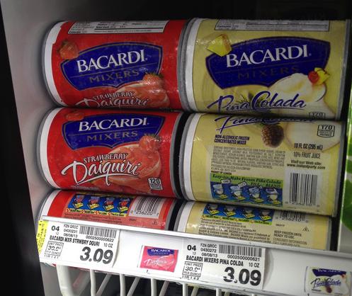 Bacardi Frozen Mixers Coupon