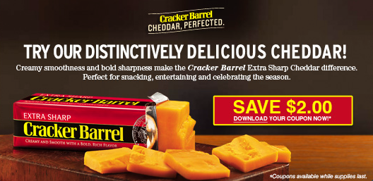 Cracker barrel coupons 2019
