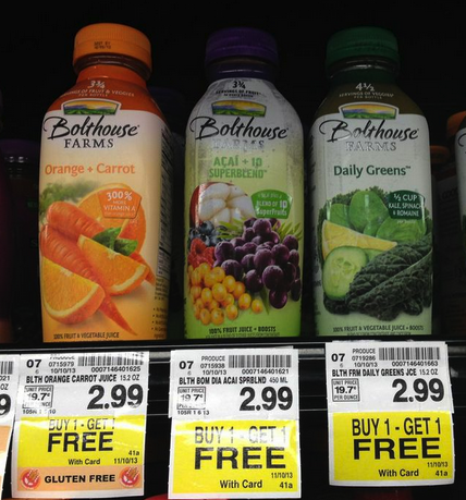 Bolthouse juice coupons 2018