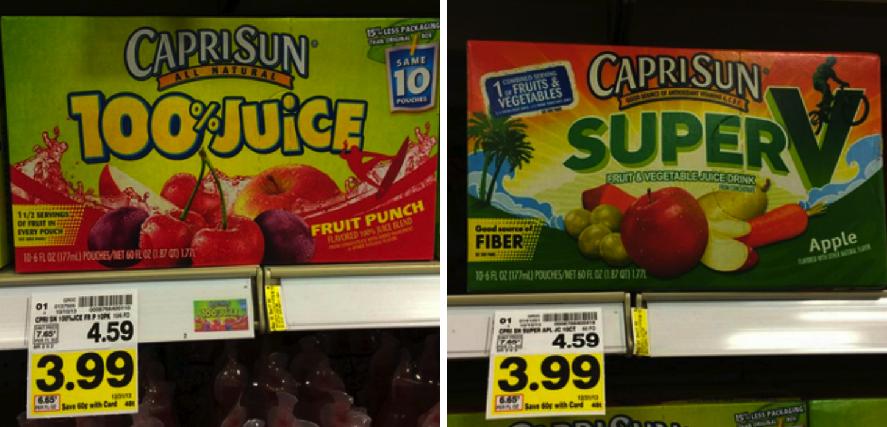 Capri sun juice coupons 2019