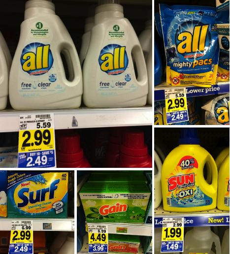 laundry detergent kroger