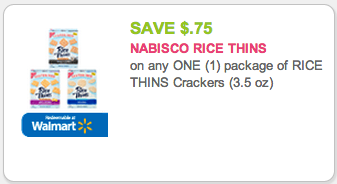 Nabisco Rice Thins Coupon