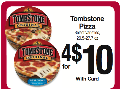 New Tombstone Pizza Coupon For Upcoming Kroger Sale Kroger Krazy