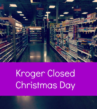 krogers store - Christmas Eve Store Hours